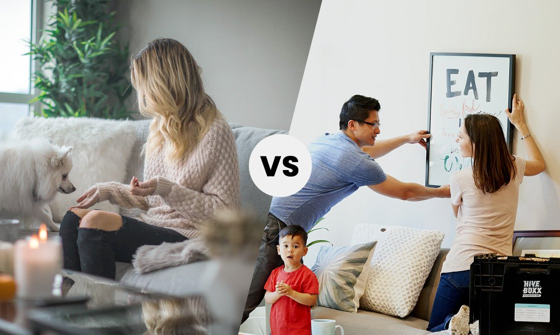 Buying vs Renting a house