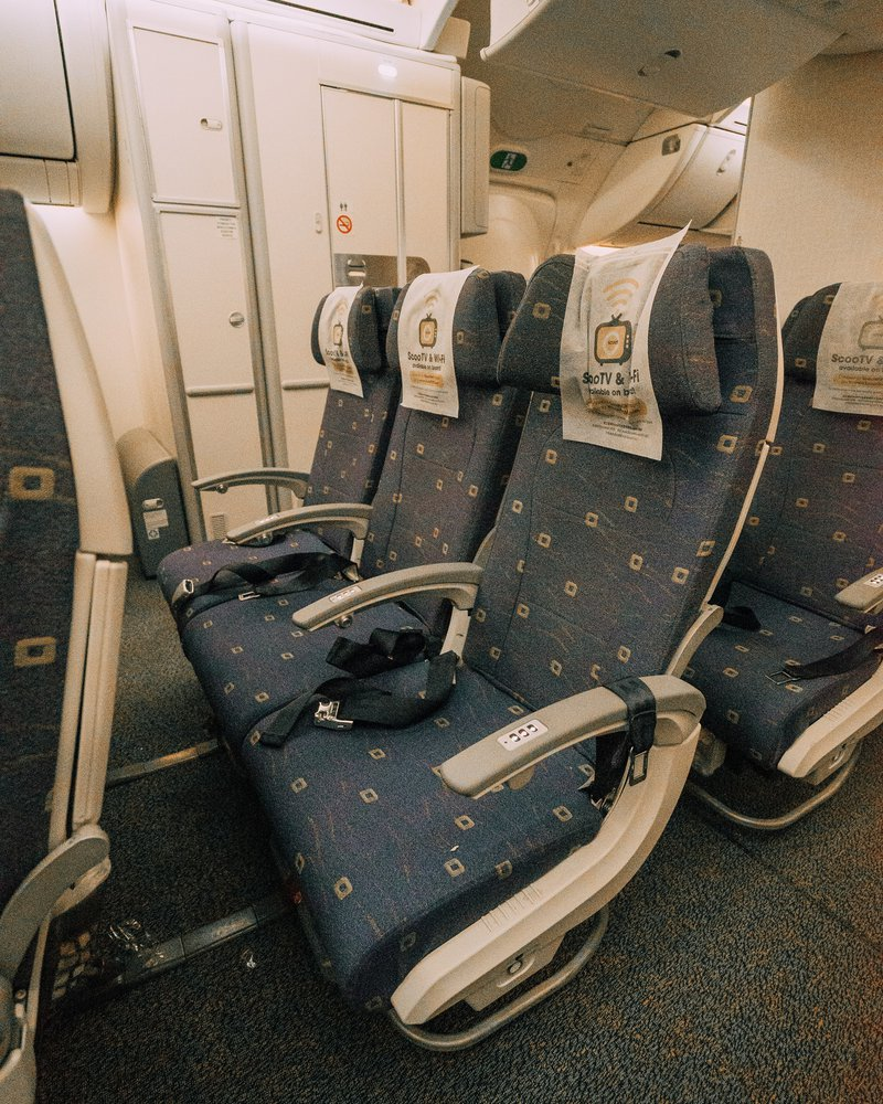 Our luxurious ScootinSilence seats.