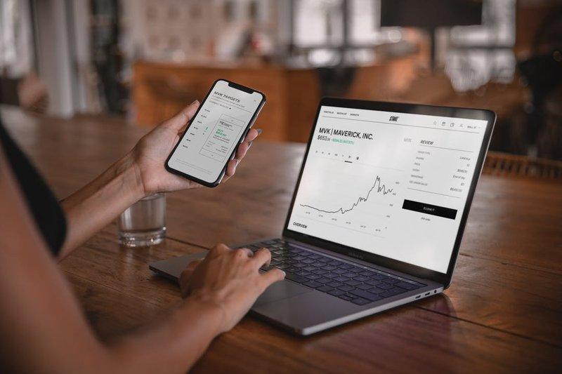 Stake US trading platform available on desktop + mobile app