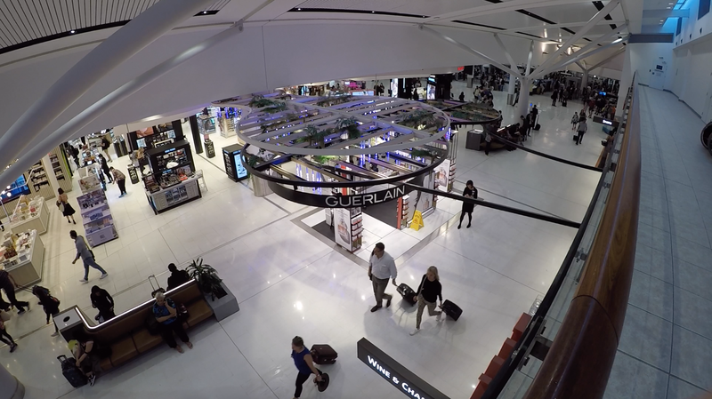 The shops at Sydney International Terminal have improved a lot.