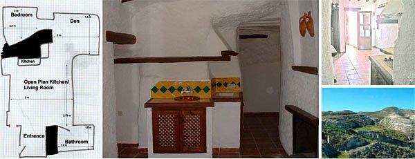 Cave house, Galera, Spain (Image: sunseekingeurope.com)