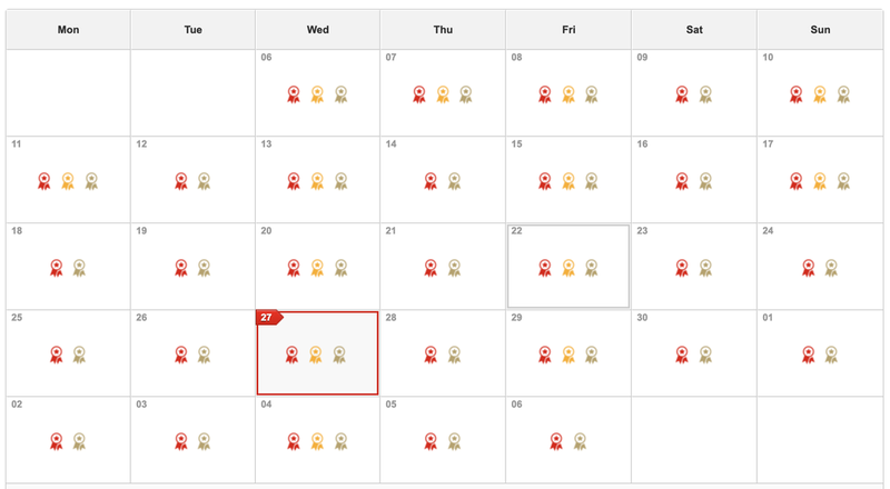 So many seats available for redemption on Qantas—a beautiful sight!
