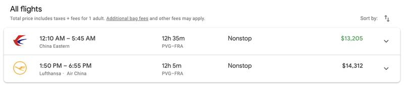 It would have cost $13,000 for a First Class ticket on the same flight according to Google Flights.