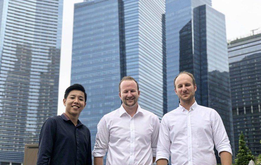 Kwok, David & Andrew in Singapore