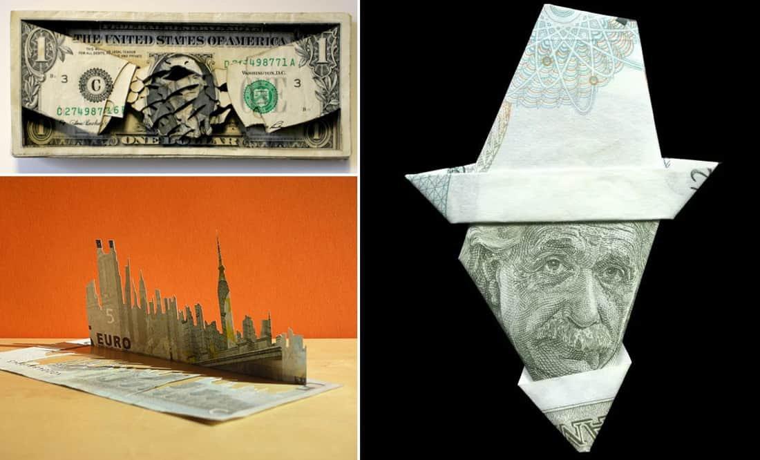 Money art hero