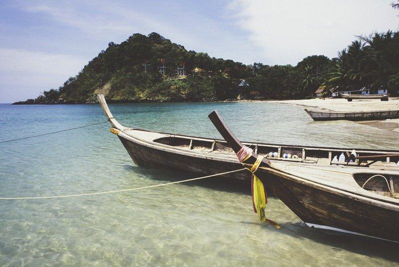 Blissful Phuket turning it on.