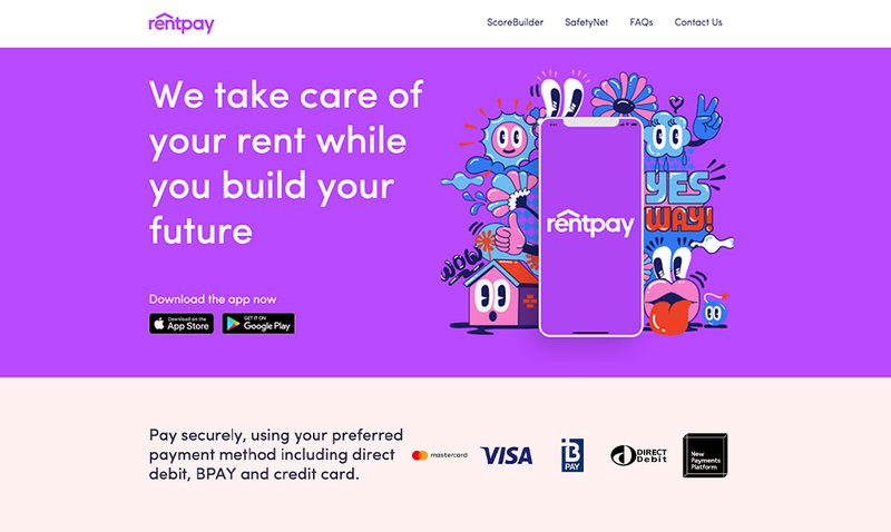 Pay rent by credit card using RentPay