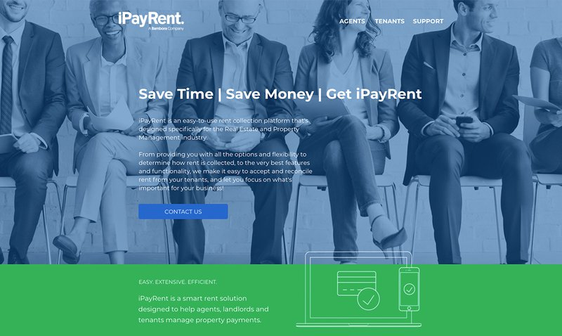 Pay rent by credit card using iPayRent