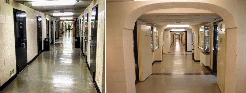 The London Silver Vaults on Chancery Lane. (Image: tripadvisor.co.uk, exploring-london.com)