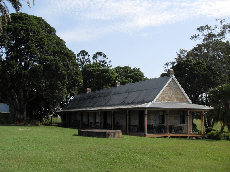 The heritage-listed and former homestead, Wolston House. (Image: Wikipedia)